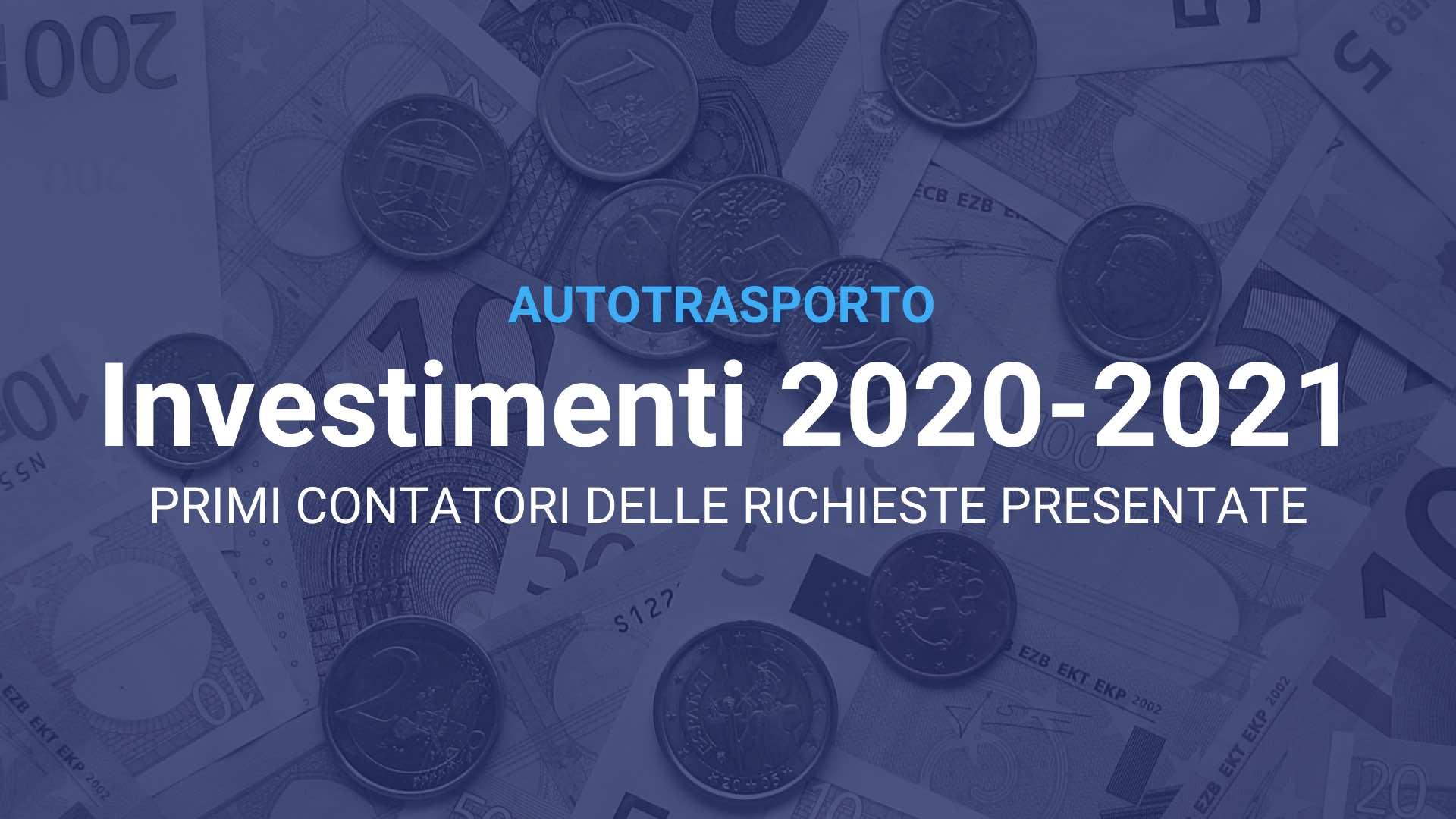 Autotrasporto Investimenti 2020 2021 v2