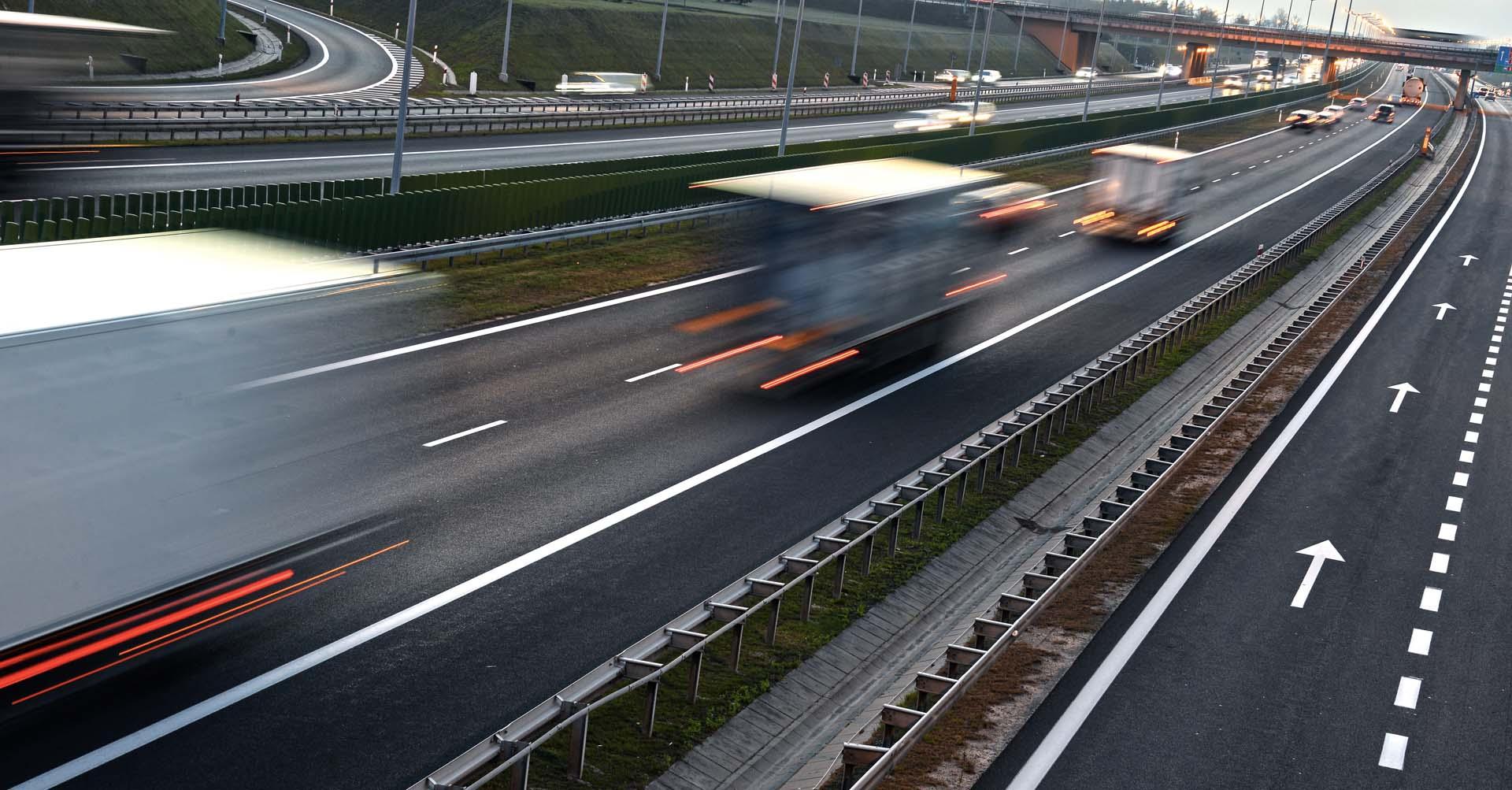 autostrada camion generici v5