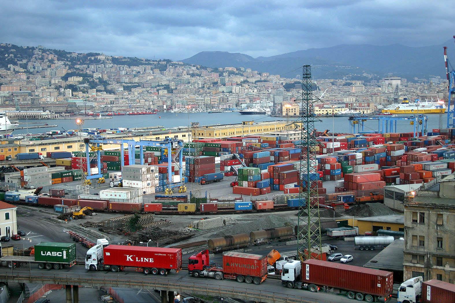 code al porto di genova