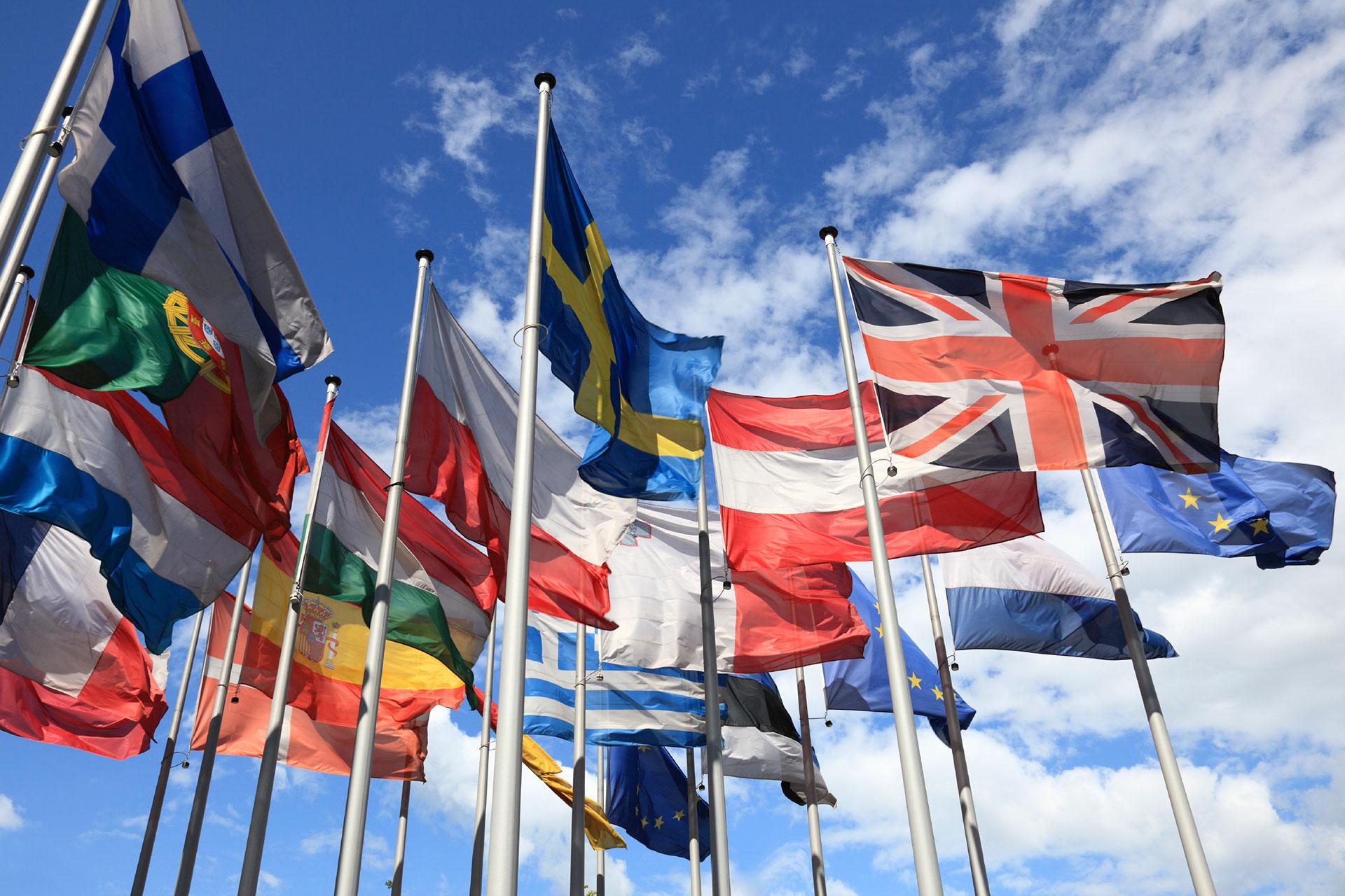 european flags in wind 000011998719 1920x1080